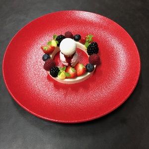 Panna Cotta met rode vruchten