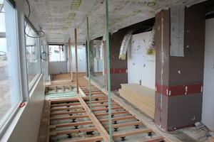 Schildia  - Verbouwingswerken nov-dec 2013